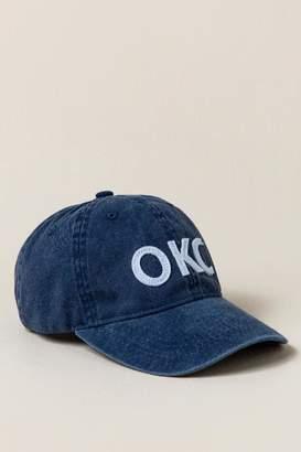 francesca's OKC Baseball Cap - Blue