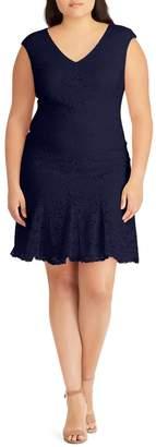 Lauren Ralph Lauren Lace A-Line Dress