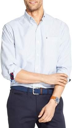 Izod Newport Oxford Classic-Fit Striped Shirt