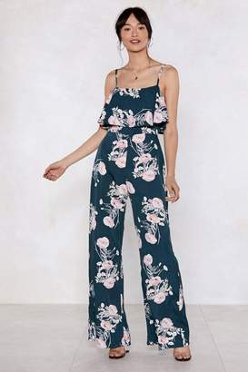 Nasty Gal Fresh Pick Floral Jumpsuit