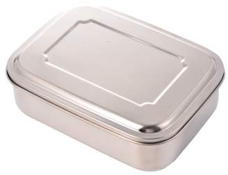 GlowSol Bento Lunch Box Food Storage Container Boxes for Adults Kids, Stainless Steel