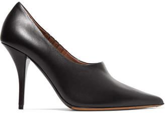 Tabitha Simmons Oona Leather Pumps - Black