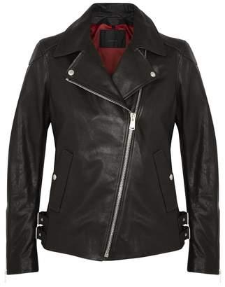 Belstaff Gaskell Black Leather Jacket