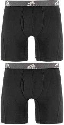 adidas Men's 2-Pk. Relaxed Performance ClimaLite Boxer Briefs