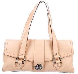 Marc Jacobs Leather Shoulder Bag Tan Leather Shoulder Bag