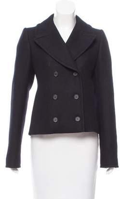 Balenciaga Double-Breasted Short Coat