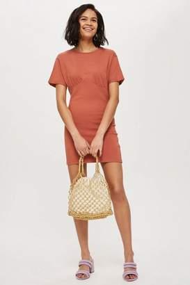 Topshop Petite Bust Cup T-Shirt Dress