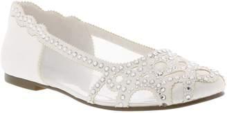 Badgley Mischka Collection Gigi Embellished Flat