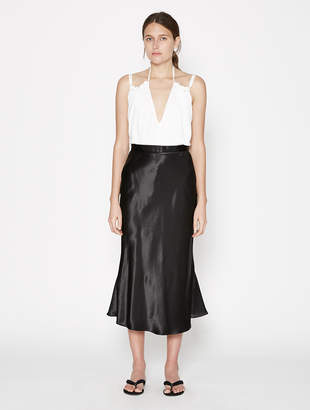 CHRISTOPHER ESBER Bias Slip Godet Skirt