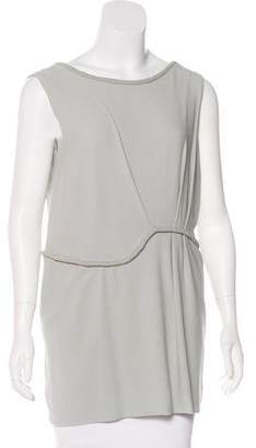 Nina Ricci Silk Sleeveless Top