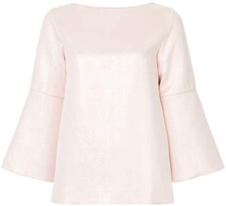Osman flared sleeve blouse