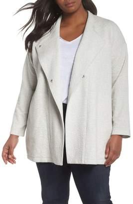 Eileen Fisher Textured Tencel(R) Lyocell Kimono Jacket