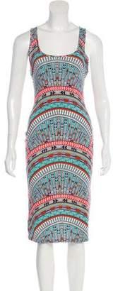 Mara Hoffman Printed Knit Midi Dress