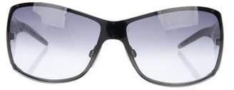 Dolce & Gabbana Oversize Shield Sunglasses