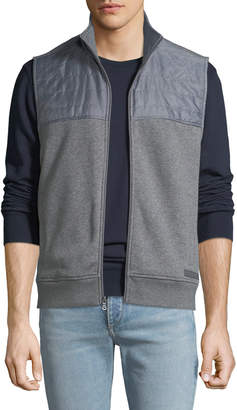 Michael Kors Men's Quilted Fleece Vest