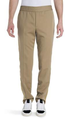 Palm Angels Men's Virgin Wool Trimmed Trousers