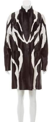 Tom Ford Tailored Calf Hair Coat