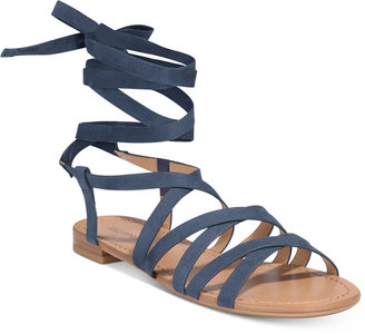 Call It Spring Afauma Lace-Up Sandals $39.50 thestylecure.com