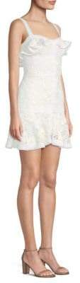 Alexis Linzi Ruffled Lace Mini Dress