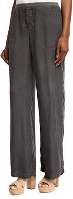 XCVI Lovise Full-Leg Pants, London Grey