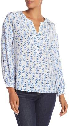 Joie Printed Long Sleeve Blouse