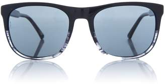 Black EA4099 square sunglasses