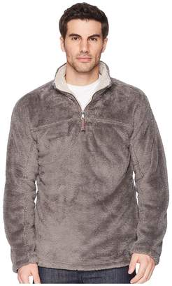 True Grit Double Plush 1/4 Zip Pullover Men's Clothing