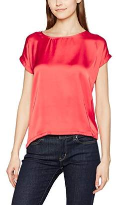 More & More Women's T - Shirt (Red Currant 0547)