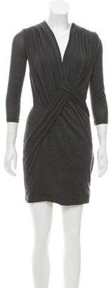 Givenchy V-Neck Sweater Dress