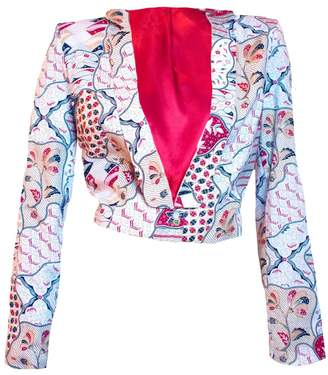 Relax Baby Be Cool Womens Cropped Jacket Sekar Jagad