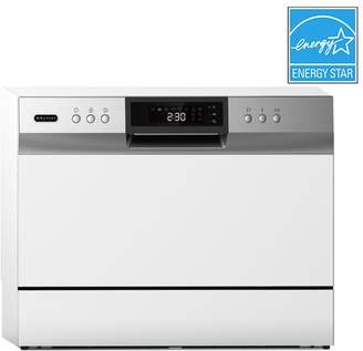 "Whynter Portable LED 22"" 54 dBA Countertop Dishwasher"
