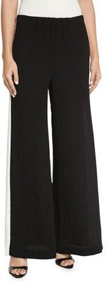 Kendall + Kylie Contrast Side-Stripe Wide-Leg Pants $158 thestylecure.com