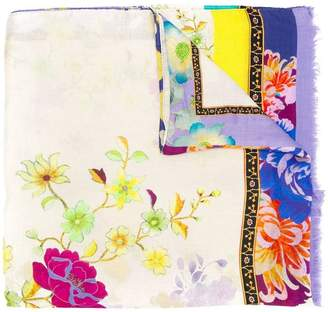 Etro floral printed scarf
