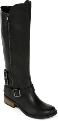 ARIZONA Arizona Caleb Womens Riding Boots - Wide Calf $90 thestylecure.com