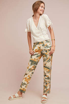 Anthropologie Chino by Relaxed Printed Chino Pants