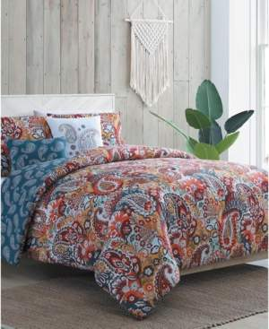 Vcny Home Bree 4-Pc. Twin Xl Duvet Cover Set Bedding