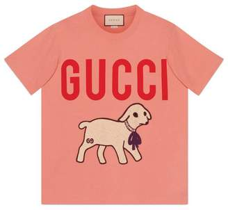 Gucci T-shirt with lamb
