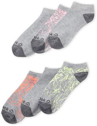 Reebok 6-Pack Splatter Low-Cut Socks
