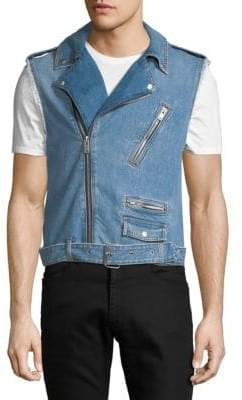 Maison Margiela Belted Denim Vest