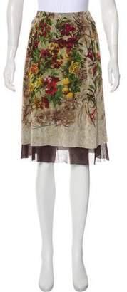 Jean Paul Gaultier Classique Maille Lace Skirt
