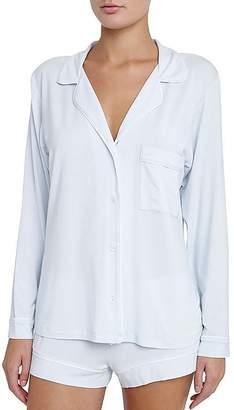 Eberjey Gisele Long Sleeve Short Pajama Set $115 thestylecure.com