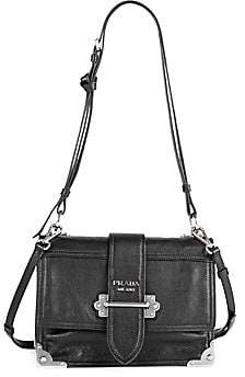 Prada Women's Large Soft Cahier Shoulder Bag