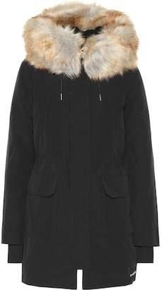 Calvin Klein Jeans Down parka with faux fur trim