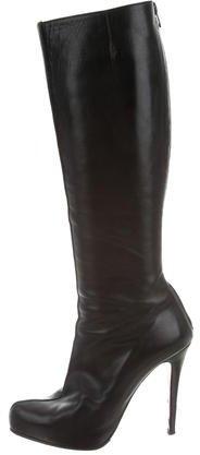 Christian Louboutin Christian Louboutin Leather Knee-High Boots
