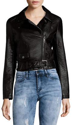 Joe's Jeans Joe''s Zip Faux Leather Moto Jacket