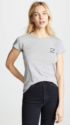 Rag & Bone Planet Embroidered Tee