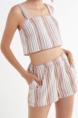 Urban Renewal Vintage Remnants Natural Striped Short