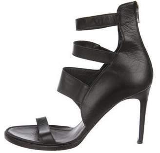 Helmut Lang Leather Multistrap Sandals