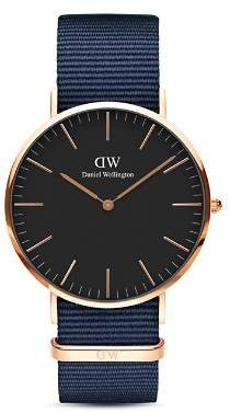 Daniel Wellington Classic Bayswater Watch, 40mm