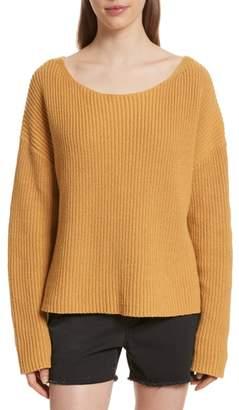 Nili Lotan Martindale Ribbed Cotton, Cashmere & Silk Sweater